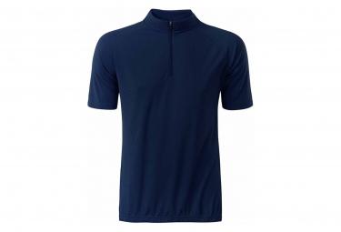 James et Nicholson maillot cycliste zippé - HOMME - JN512 - bleu marine