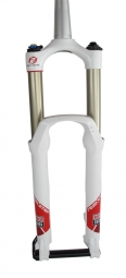 Produit reconditionné ROCKSHOX Fourche REVELATION RLT 26´´ 2 positions 120-150mm 20mm Conique 1´´1/8-1.5´´ Blanc