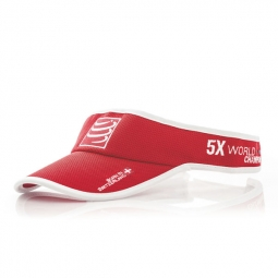 COMPRESSPORT Casquette VISOR CAP Rouge