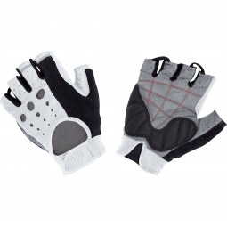 GORE BIKE WEAR Paire de Gants RETRO TECH Blanc Noir