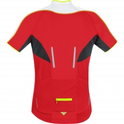 gore bike wear maillot manches courtes phantom 2 0 rouge s