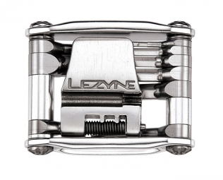 LEZYNE Multi outils STAINLESS 20 Argent