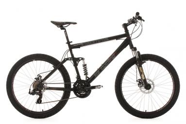 Vtt tout suspendu ks cycling insomnia 26 shimano tourney 7v noir 50 cm 157 170 cm