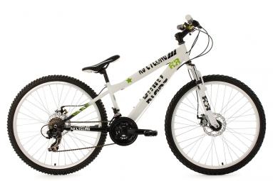Vtt semi rigide ks cycling dirrt 26 shimano tourney 7v blanc xs 135 150 cm