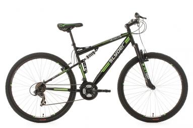 Vtt tout suspendu ks cycling slyder 29 shimano tourney 7v noir 51 cm 172 185 cm