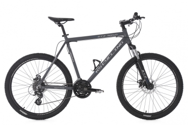Vtt semi rigide ks cycling gtz 26 shimano tourney 7v gris 51 cm 165 180 cm