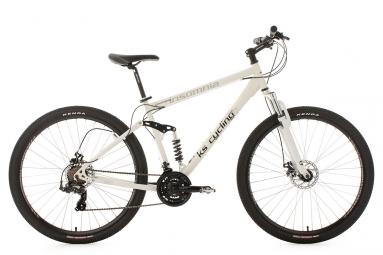 VTT tout suspendu KS Cycling Insomnia 29'' Shimano Tourney 7V Blanc
