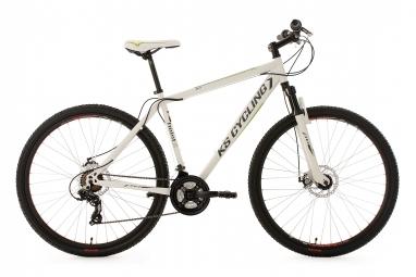 Vtt semi rigide ks cycling heist 29 shimano altus 7v blanc 51 cm 165 180 cm