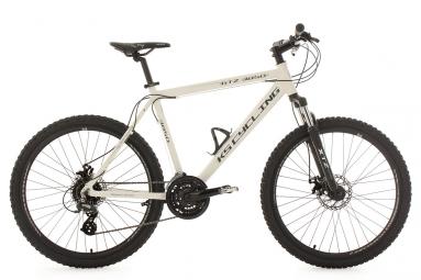 Vtt semi rigide ks cycling gtz 26 shimano altus 8v blanc 56 cm 180 195 cm