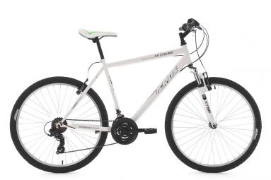 Vtt semi rigide ks cycling icros 26 shimano tourney 7v blanc 51 cm 165 170 cm