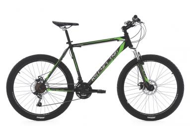 Vtt semi rigide ks cycling sharp 26 shimano tourney 7v noir vert 51 cm 165 180 cm