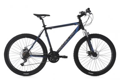 Vtt semi rigide ks cycling sharp 26 shimano tourney 7v noir bleu 51 cm 165 180 cm