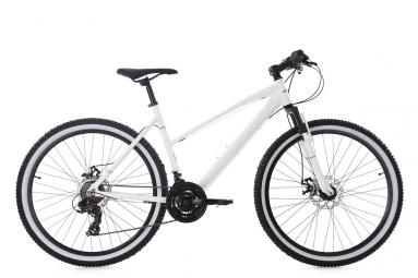 Vtt femme semi rigide ks cycling larrikin 26 shimano tourney 7v blanc 48 cm 155 165
