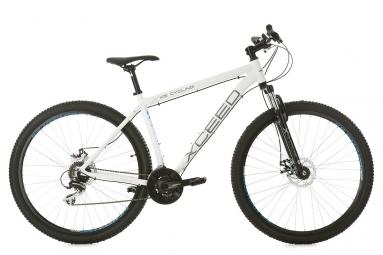 Vtt semi rigide ks cycling xceed 29 shimano acera 8v blanc 51 cm 165 180 cm