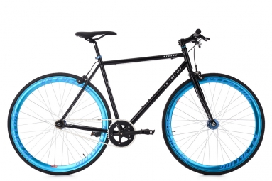 Velo fixie ks cycling pegado noir bleu 53 cm 162 172 cm