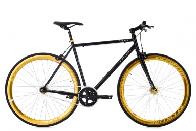 Velo fixie ks cycling pegado noir or 59 cm 180 190 cm