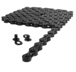 Kmc chaine x10 sl dlc 114 maillons 10v noir