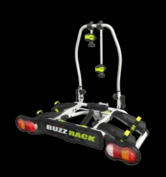 Porte velo sur boule d attelage 2 velos buzz rack new spark 2