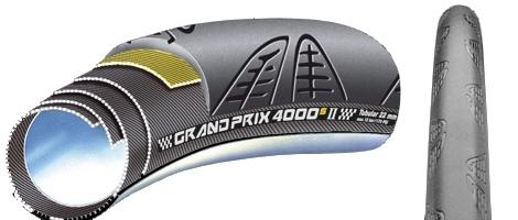 CONTINENTAL Boyau GRAND PRIX GP 4000S II 700x22c Noir