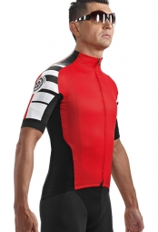 ASSOS Maillot SS.cento_s7 Rouge