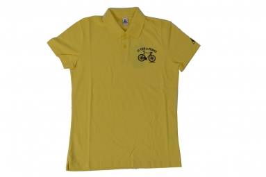 le coq sportif polo tour de france jaune xl