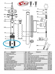 ICE 2 Keys guide for ICE Telescopic Seatpost