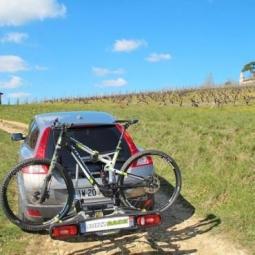 Porte-vélo sur boule d'attelage 2 vélos Buzz Rack Spark 2