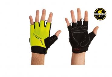 NORTHWAVE 2014 Paire de gants courts FORCE Jaune Fluo