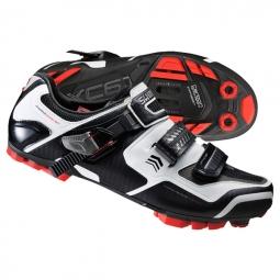 chaussures vtt shimano xc61 blanc 47