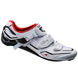 chaussures route shimano r260 blanc large 46