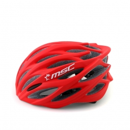 MSC Helmet ROAD Red