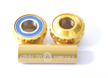 PROFILE OUTBOARD BEARING Euro BB kit Gold