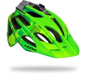 LAZER 2014 Helmet Oasiz Flash Camo Green