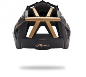 Casco Lazer Oasiz 2014 Negro Bronce