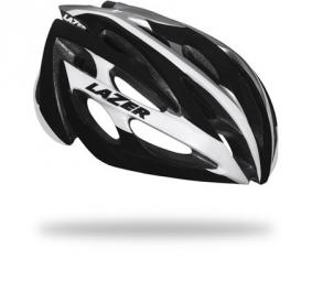 Lazer O2 casco 2014 Blanco / Negro