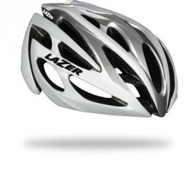 LAZER 2014 Helmet O2 White Silver