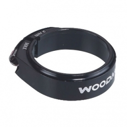 WOODMAN Seat Clamp DEATHGRIP SL Ti Black