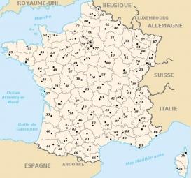TWO NAV Carte TOPO Département France 1:25.000