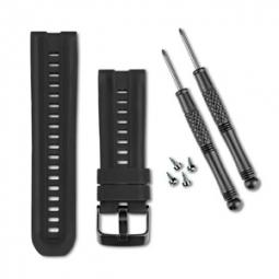 GARMIN Bracelet Silicone de montre GPS+ABC Noir