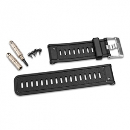 GARMIN Bracelet Silicone de montre GPS+ABC Gris Foncé