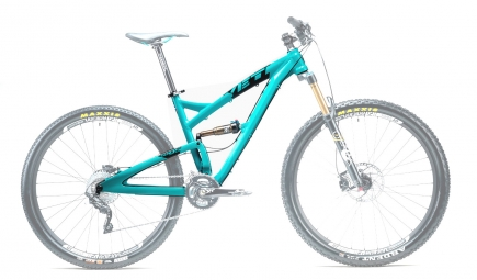 YETI 2014 Frame SB 95 Aluminium Turquoise + Rear Shock Fox Float CTD A
