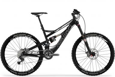 DEVINCI Vélo Complet SPARTAN RC Alu 27.5'' 165mm Noir Blanc
