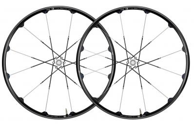 CRANKBROTHERS Paire de roues Cobalt 3 29'' axes 9 mm Noir Gris