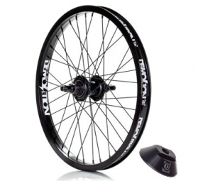 DEMOLITION ROGUE Complete Wheel + Hubguard Black