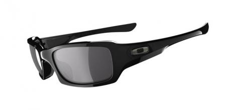 OAKLEY Paire de Lunettes FIVES SQUARED Black/Black Iridium Polarized Ref OO9238-06