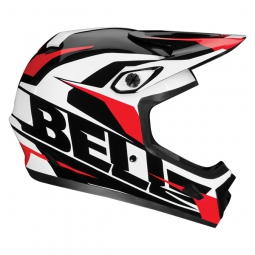BELL Full face Helmet TRANSFER 9 White Red Black