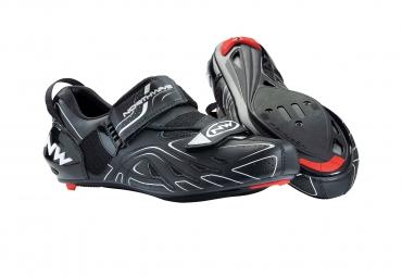 NORTHWAVE Paire de Chaussures Triathlon TRI SONIC Noir