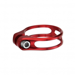 Aerozine collier de selle a vis xcs1 0 rouge 34 9