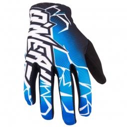 ONEAL Paire de Gants longs MATRIX Noir Bleu