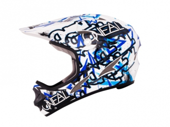 Casco integral O'Neal BACKFLIP EVO JUNGLE Azul